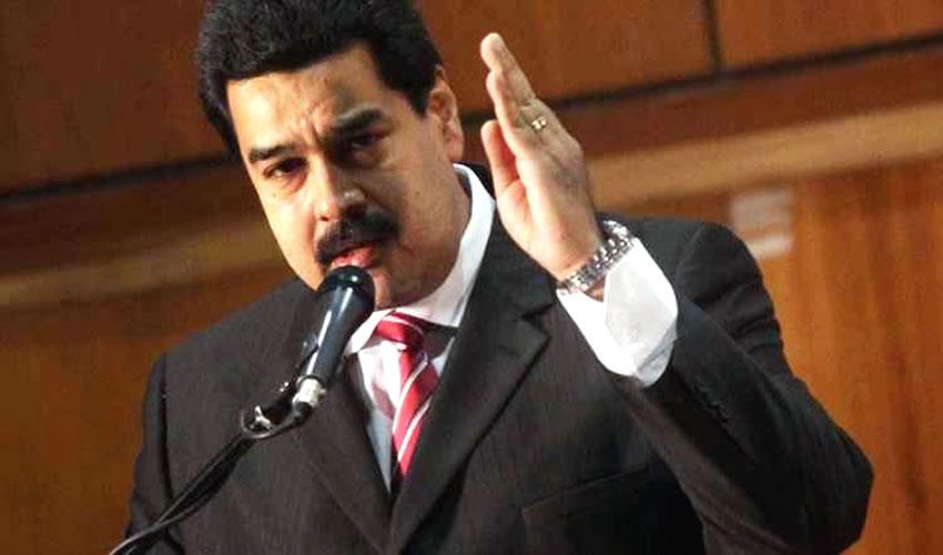 Rechaza Presidente Maduro Amenazas Contra su País