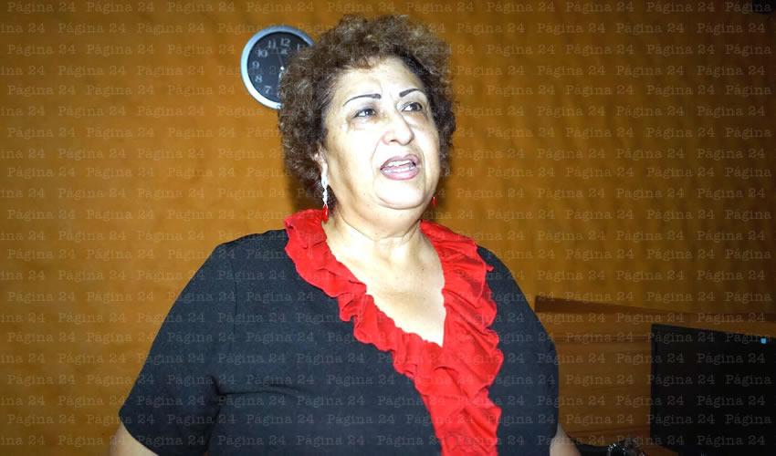 Lilia Ruiz Chávez, presidenta de la asociación 22 de Abril en Guadalajara AC/Foto: Francisco Tapia