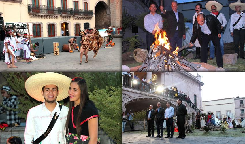 """Dichas actividades están programadas """"en caso de que dé resultado y si hay interés por parte de la sociedad, las realizaremos todo el año, ya que es el año declarado como el año de la Batalla de Zacatecas"""""""