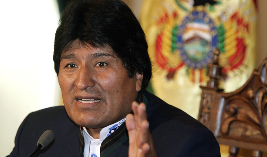 Evo Morales, presidente de Bolivia (Foto: Aarchivo/Prensa Latina)