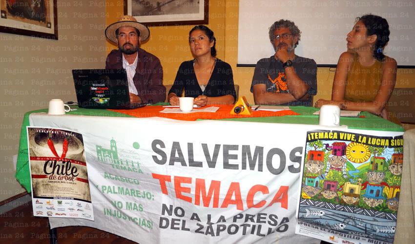 Habitantes de Temacapulín, Acasico y Palmarejo criticaron que los trasvases construidos para transportar agua del lago de Chapala a la presa son inviables no sólo en aspectos ecológicos, sino también en lo social y económico, entre otras mentiras/Foto: Francisco Tapia