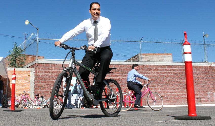 """Gobierno Municipal de Aguascalientes Implementa el Programa """"BiciEscuela"""""""