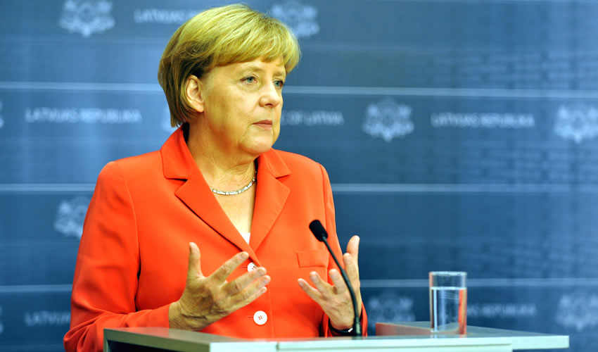 Ángela Merkel, canciller alemana (Foto: Cortesía)