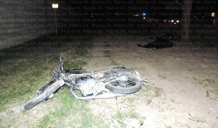 Identifican a Motociclistas que Sufrieron Fatal Choque