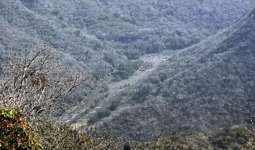 Que la barranca sea  área natural protegida