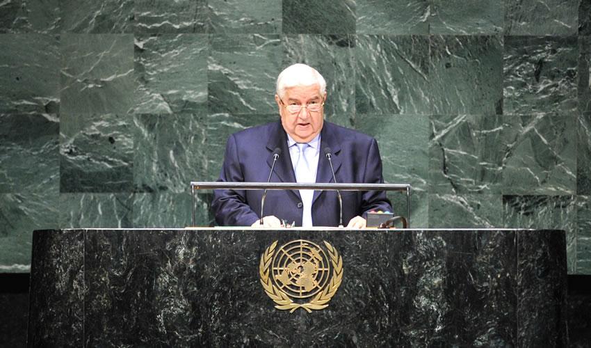 Denuncia Siria a EU en ONU