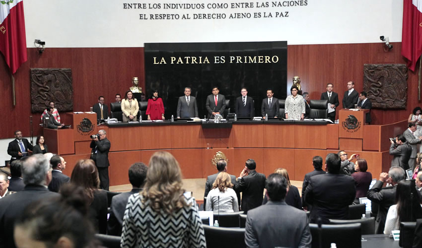 Aprueba Senado Iniciativa de Peña