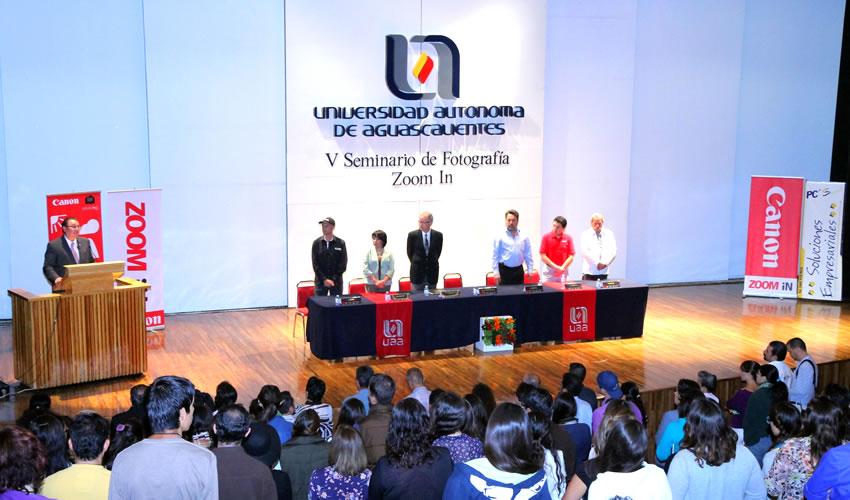 Universidad Autónoma Inaugura el V Seminario de Fotografía Zoom In