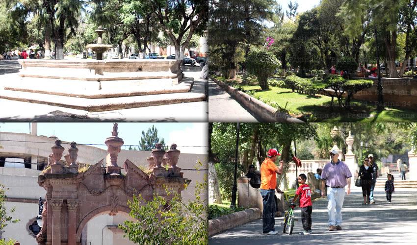 """La Alameda """"Trinidad García de la Cadena"""", Lugar de Reunión, Paseo, Descanso y Recreación   Página 24 Zacatecas"""