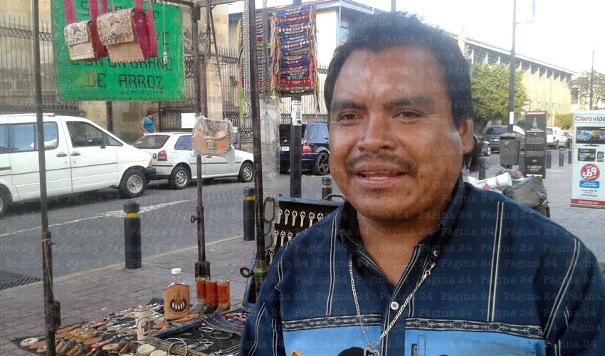 Salvador Cabrera Vera, explotador de indígenas: Artesano