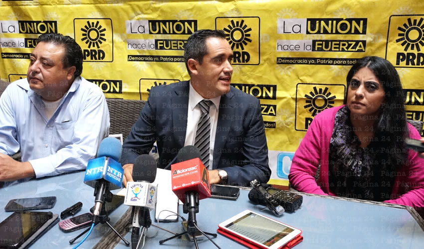 Elección de Nueva Dirigencia del PRD se Realizará 26 de Octubre