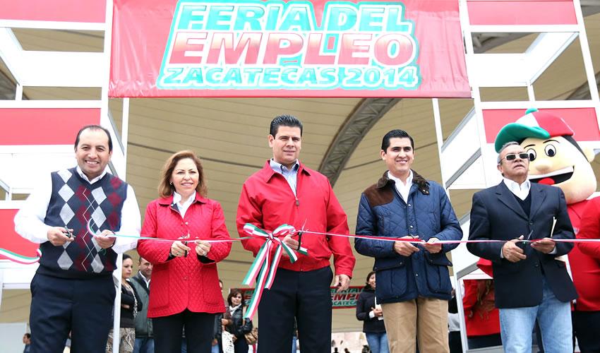 Genera Feria Nuevos Empleos Para los Zacatecanos: Salinas