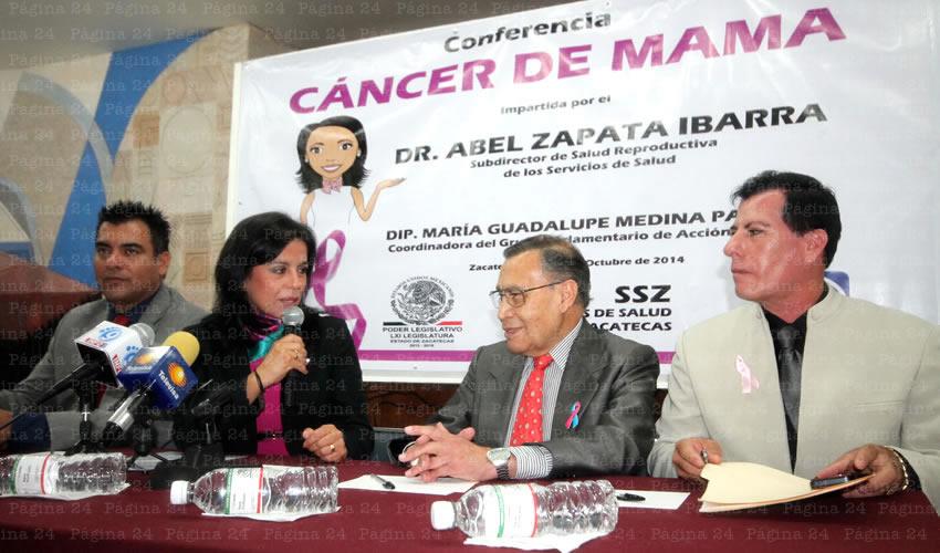 Zapata: Cada Semana Fallece una Mujer Víctima del Cáncer de Mama