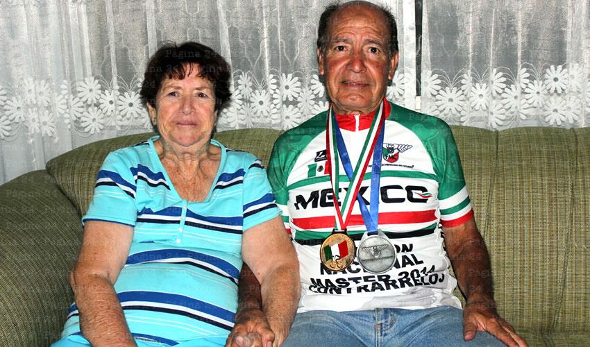Don Miguel, un Ciclista Veterano con más de 53 Años de Experiencia en el Deporte