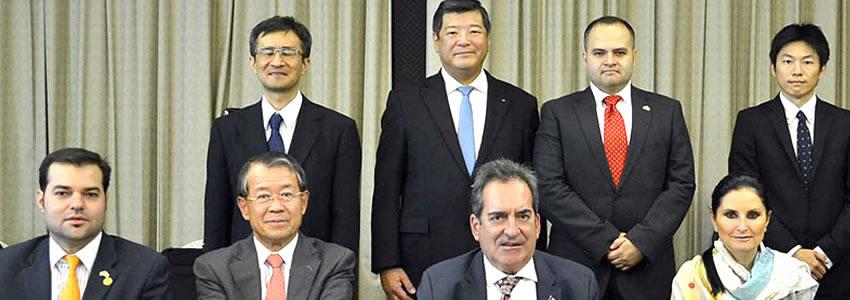 El más Alto Nivel de Intercambio Económico  con Japón se da en el Estado: Carlos Lozano