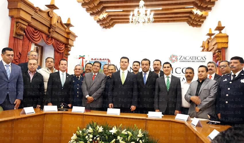 Roberto Núñez es Nuevo Coordinador del Mando Único Regional I Zacatecas