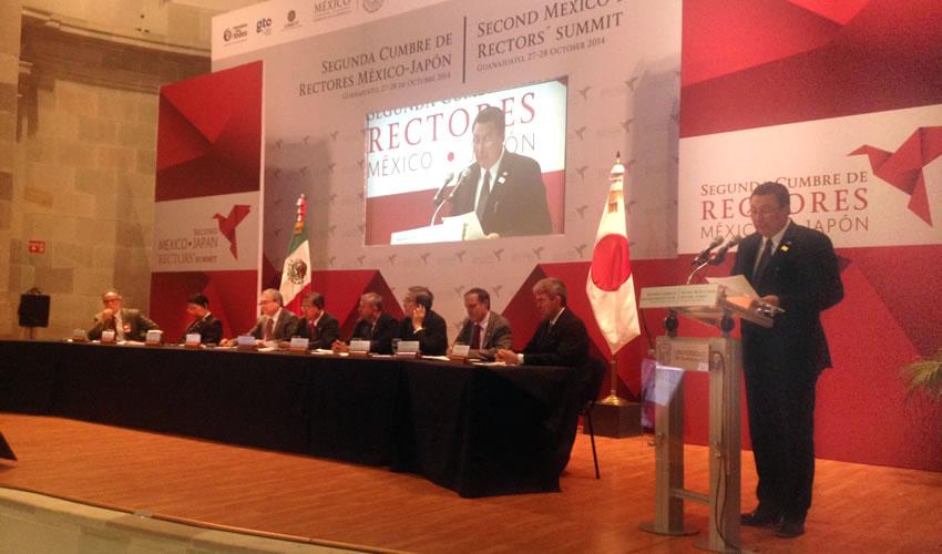 Concluye Cumbre de Rectores México-Japón con Acuerdos Fundamentales de Intercambio
