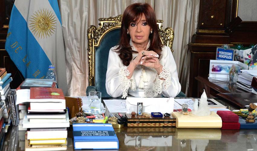 Niega Presidenta que Argentina Sufra una Crisis