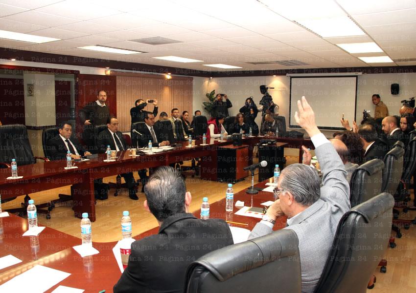 Compareció Ante el Poder Legislativo Felipe Muñoz, Procurador General de Justicia