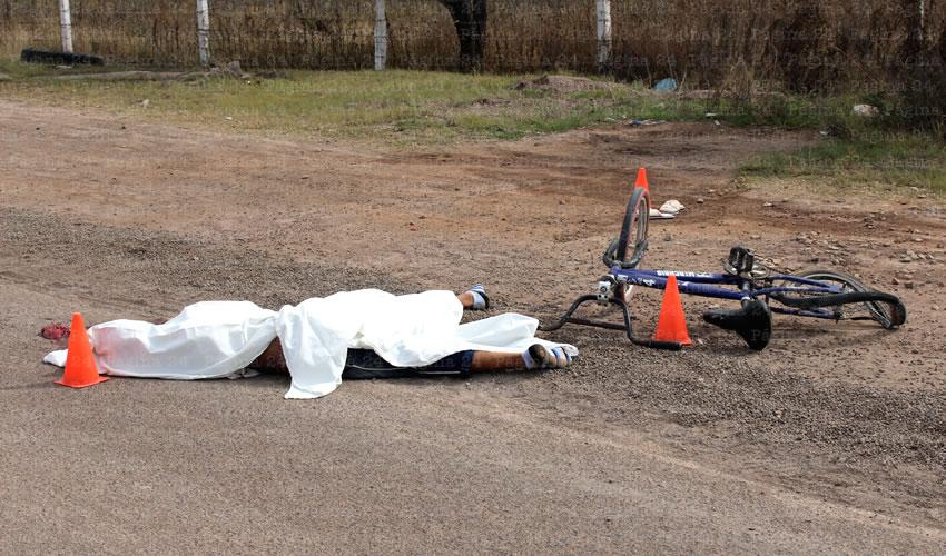 Horrible Muerte de un Ciclista