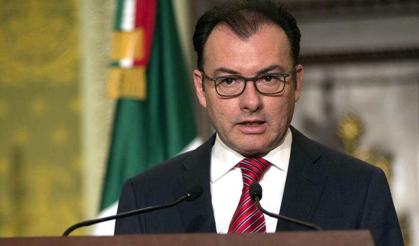Luis Videgaray, secretario de Relaciones Exteriores (Foto: Archivo/Isabel Mateos/Cuartoscuro)