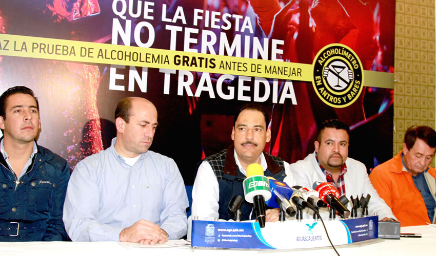 """Anuncia JAMC el Arranque en Antros y Bares de la Campaña """"Que la Fiesta no Termine en Tragedia"""""""