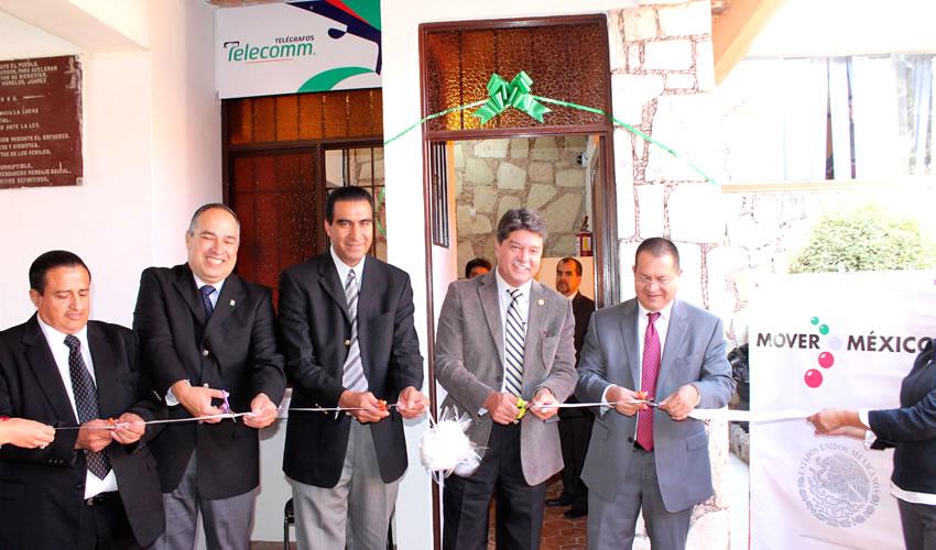 Crece Infraestructura de Telecomm en Beneficio de los Habitantes de los Municipios del Estado