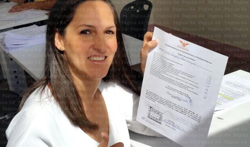 Margarita Alfaro va por Distrito 10