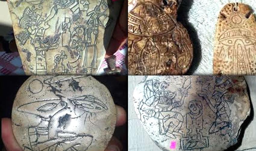 """La supuesta """"piedra alienígena-prehispánica"""""""