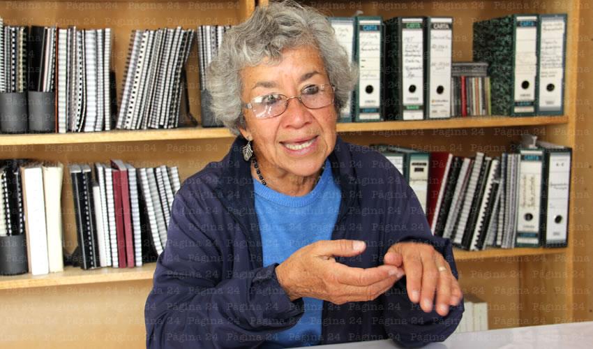 Ana María Pelz Marín, arqueóloga del INAH