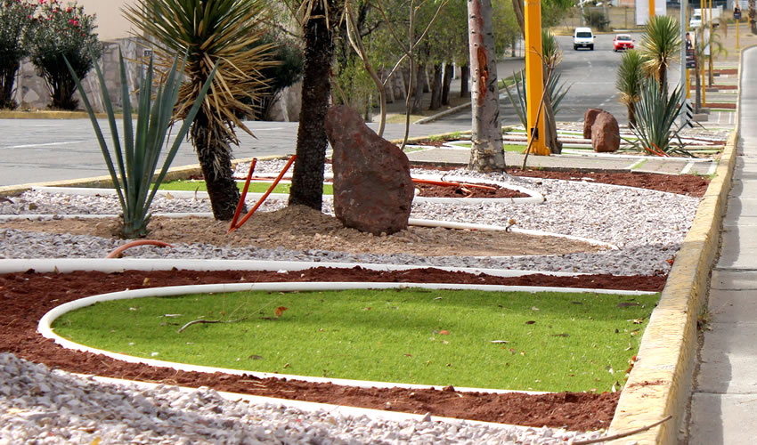 Arranca municipio con rehabilitaci n integral del camell n for Ideas para parques y jardines