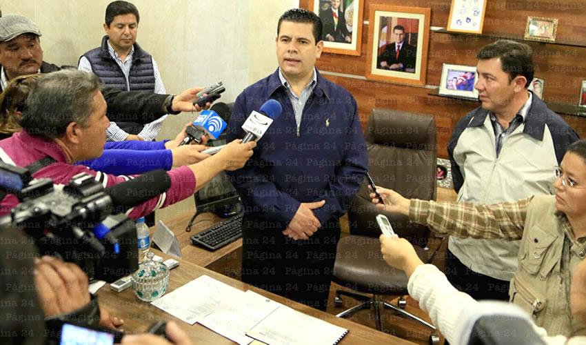 Respalda Gobernador a Gilberto Dévora Como Presidente Municipal de Fresnillo