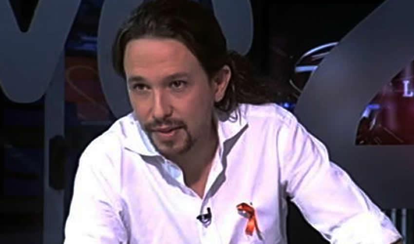 Pablo Iglesias, líder de Podemos (Foto: Tomada de Twitter)