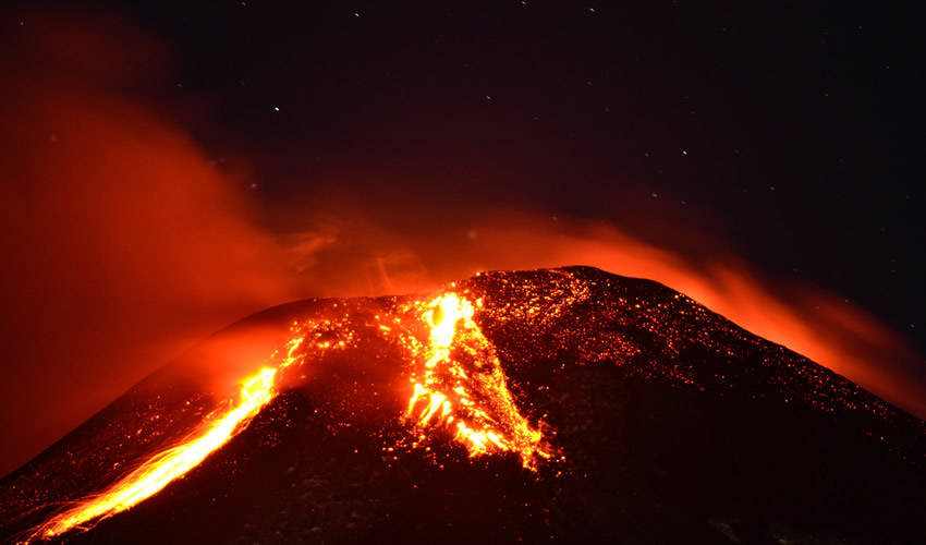 Chile Divorciado de la Naturaleza: Volcán, Temblor e Incendios