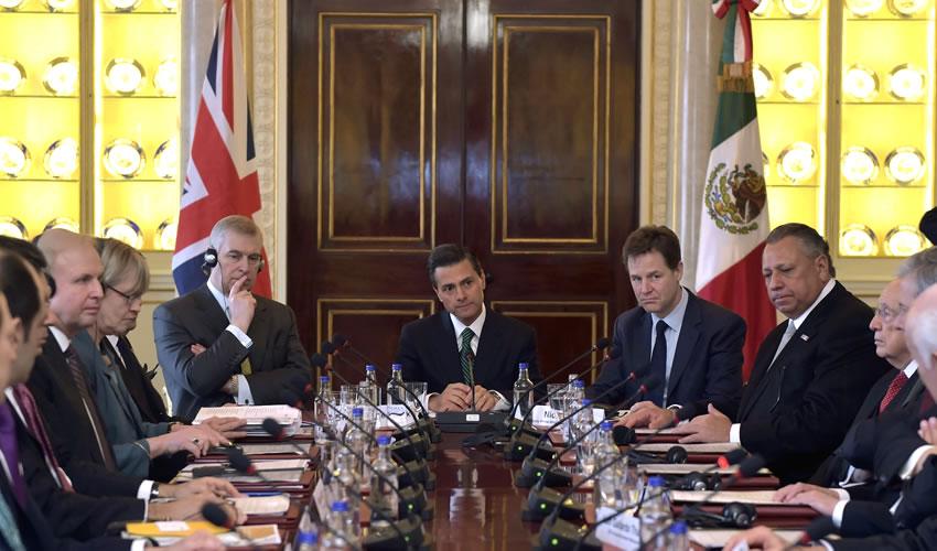 """Guerra Contra el Narco, """"Fracaso  Miserable"""" de México: Nick Clegg"""