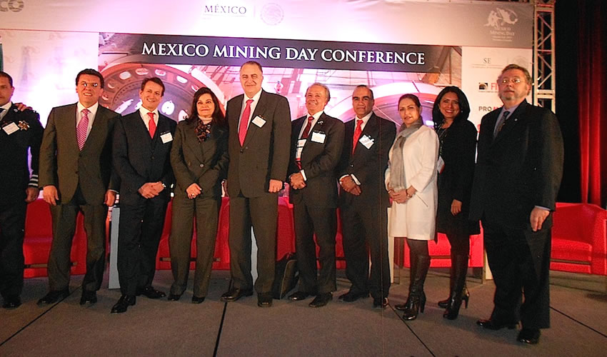 Participa Zacatecas en la Feria Mundial de Minería en Canadá