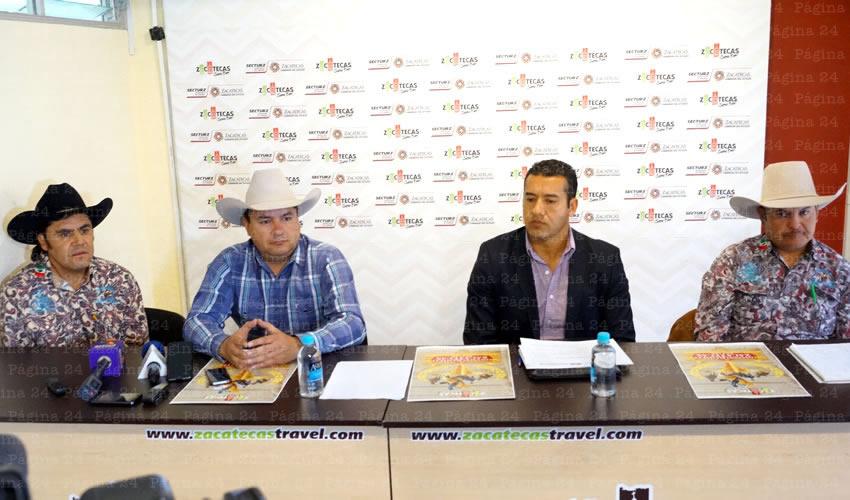 Presentan Cartel del Congreso de Rodeo en Zacatecas 2015