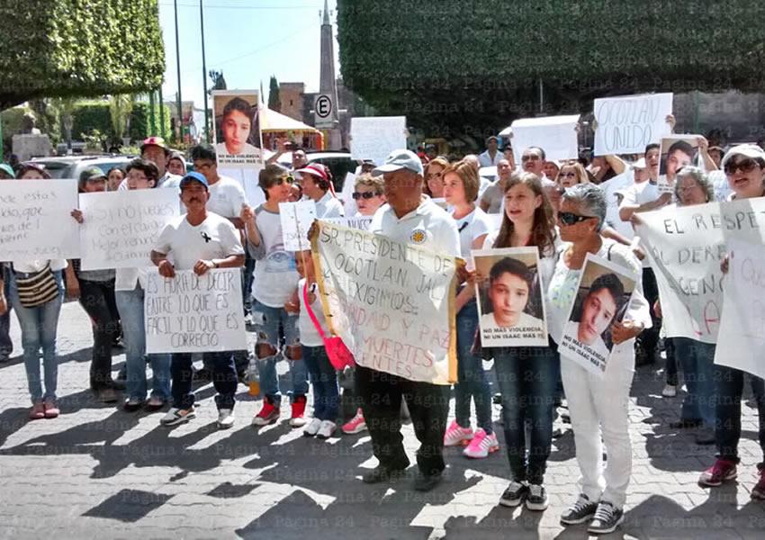¡Queremos paz en Ocotlán!
