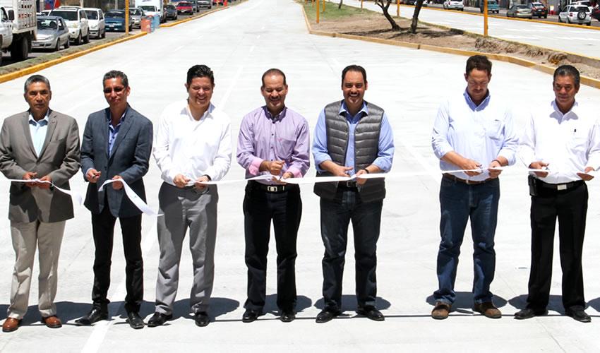 Entrega el Presidente JAMC Obras Viales  de Rehabilitación con Concreto Hidráulico