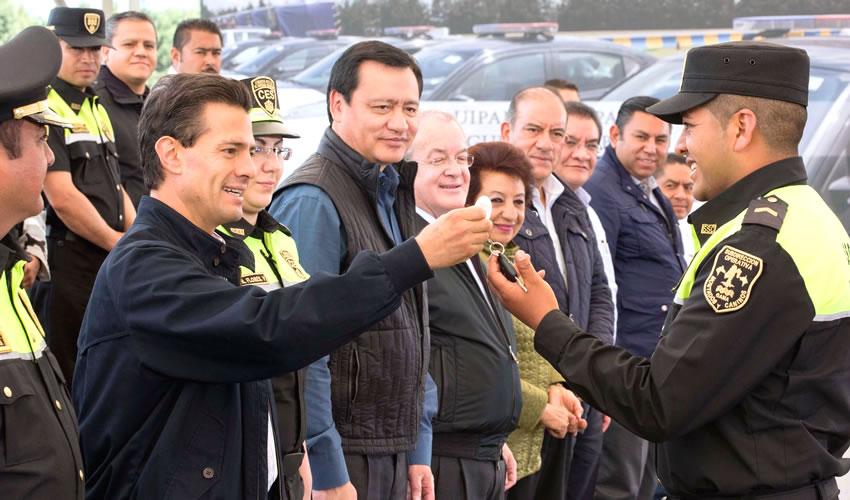 El Crimen Organizado, Mejor Preparado que Policía: Admite Enrique Peña Nieto