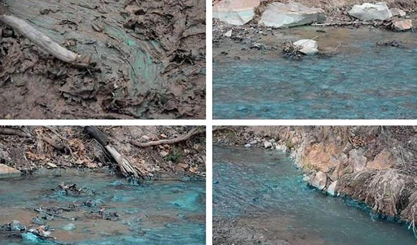 Ejidatarios e Investigadores Exhiben  Pruebas de Contaminación en Arroyo
