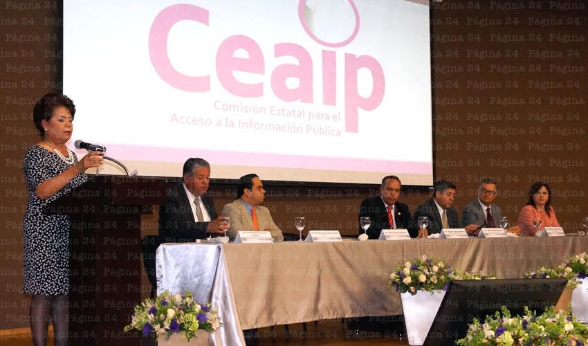 Recibió CEAIP Tres mil 427 Solicitudes de Acceso a la Información en el Último año