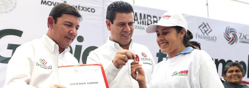Lleva Gobernador más Apoyos Sociales a Fresnillo y Guadalupe