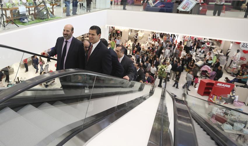Inaugura Gobernador Nueva Tienda Sears en Plaza Galerías