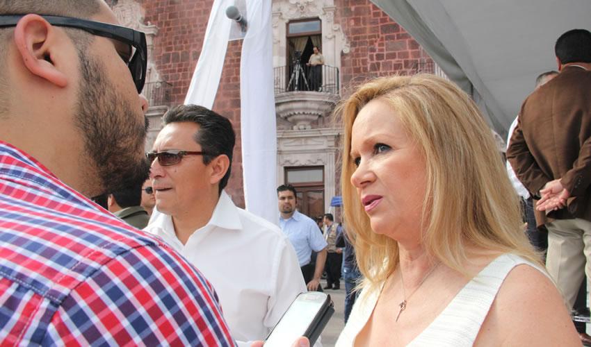 """En Aguascalientes no hay Proyectos  Culturales """"Fantasma"""": Dulce M. Rivas"""