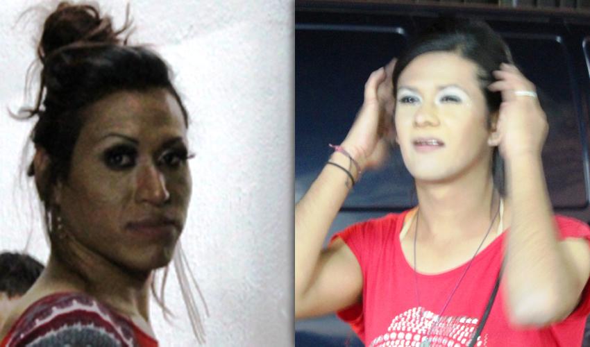 San Marcos: Detienen a 2 Agresivos Travestis