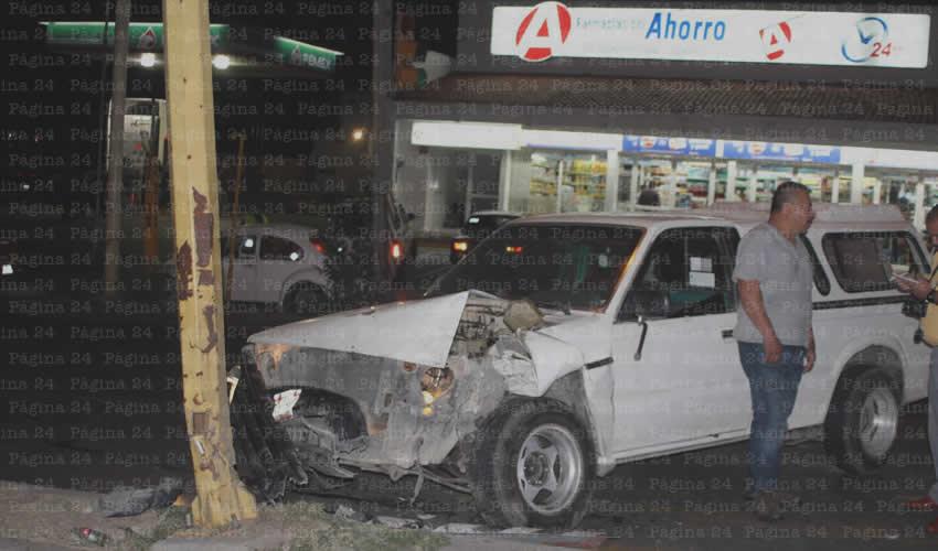 Tres Accidentes en Avenida Siglo XXI