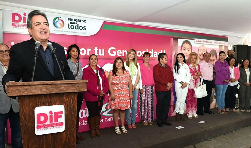 Exitoso Zapatón 2015 Gracias a la Generosidad de Aguascalentenses