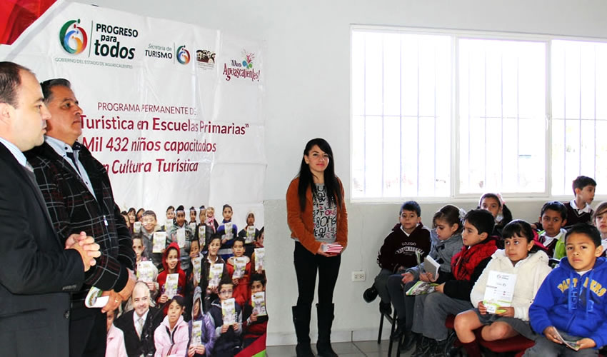 Cultura Turística Capacitó a 11 mil 819  Alumnos Hasta Cierre del Ciclo Escolar