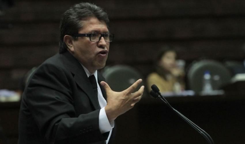 El jefe delegacional en Cuauhtémoc, Ricardo Monreal